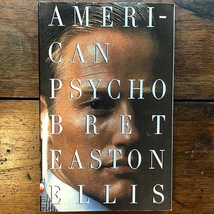 Ellis, Brett Easton - American Psycho softcover