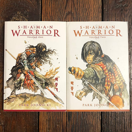 Shaman Warrior #1-2 softcover manga - Park Joong-Ki