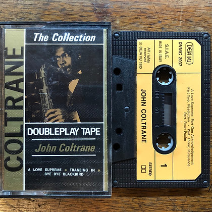 John Coltrane collection tape