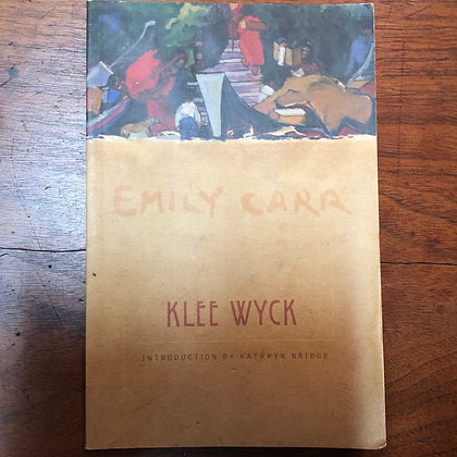 Emily Carr - Klee Wyck softcover