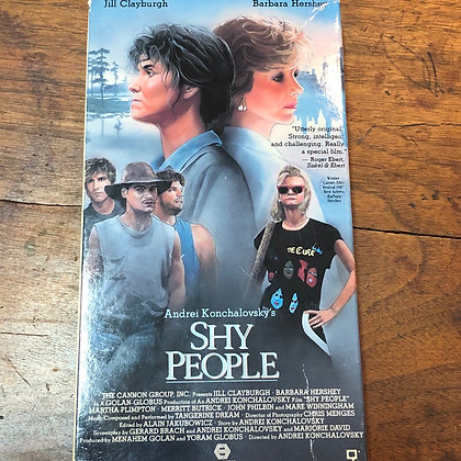 Shy People VHS