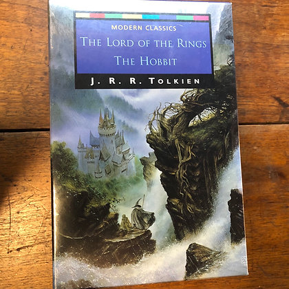 Tolkien, JRR - The Hobbit and Trilogy sealed softcover box set