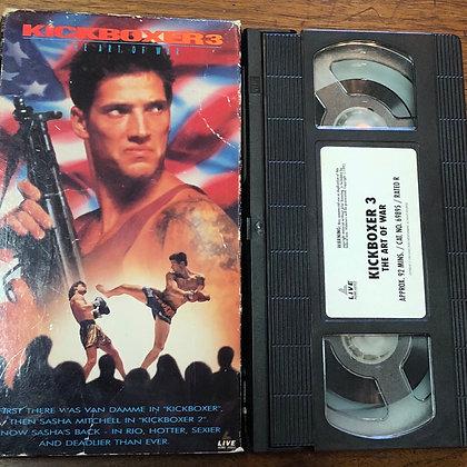 Kickboxer 3 VHS