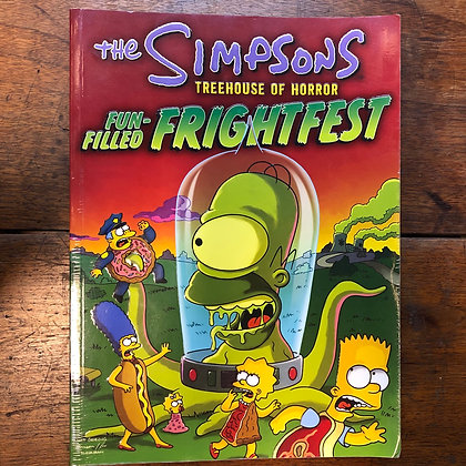 The Simpsons Treehouse of Horror softcover graphic novel