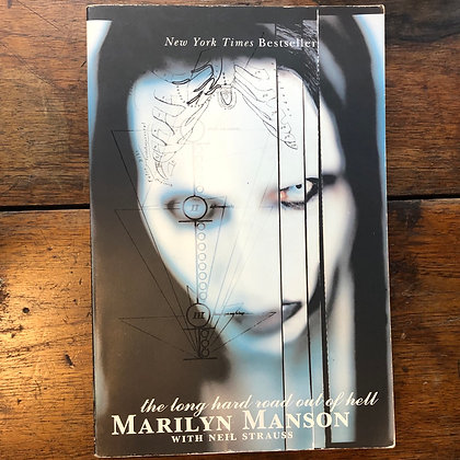 Strauss, Neil - Marilyn Manson the long hard road out of hell softcover