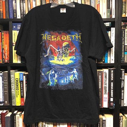 MEGADEATH shirt XL : So Far, So Good...So What!