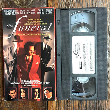 The Funeral - VHS