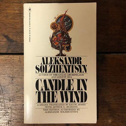 Solzhenitsyn, Aleksandr : Candle in the Wind - Paperback