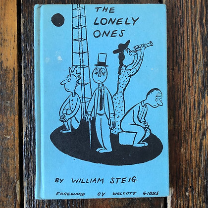 Steig, William : The Lonely Ones - 1942 Vintage Hardcover