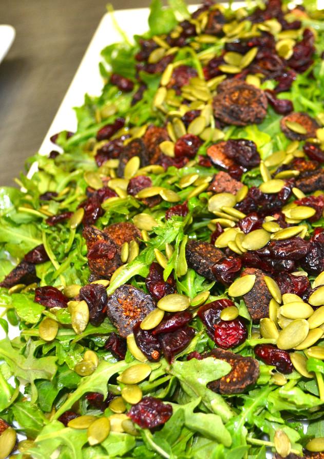 Arugula, Pepitas and Fig Salad