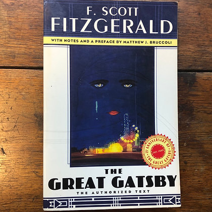Fitzgerald, F. Scott - The Great Gatsby softcover