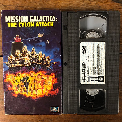 Mission Galactica : The Cylon Attack - VHS