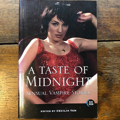 Edited by Cecilia Tan - A Taste of Midnight softcover