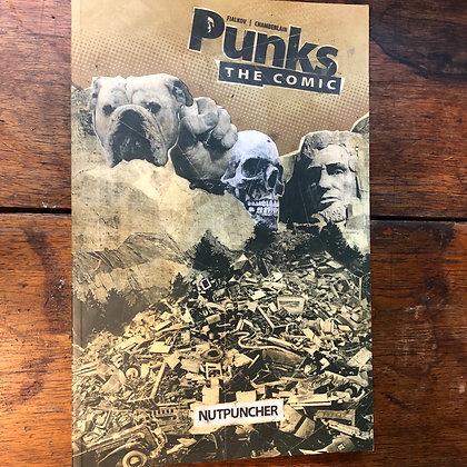 Fialkov•Chamberlain - Punk: The Comic NUTPUNCHER graphic novel