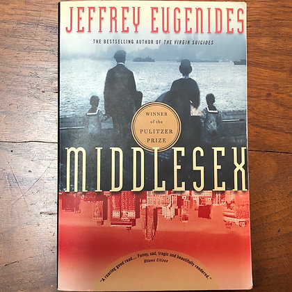 Eugenides, Jeffery - Middlesex softcover