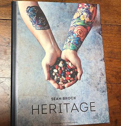 Brock, Sean - Heritage cookbook hardcover