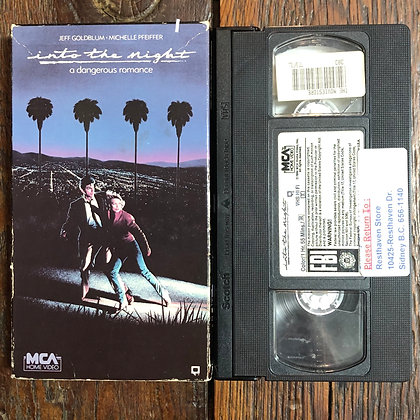 Into the Night - VHS (ex rental)