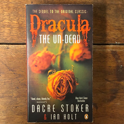 Holt/Stoker : Dracula the Un-Dead - Softcover