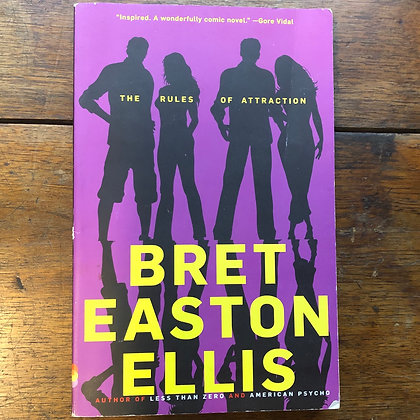 Ellis, Bret Easton - The Rules of Attraction softcover