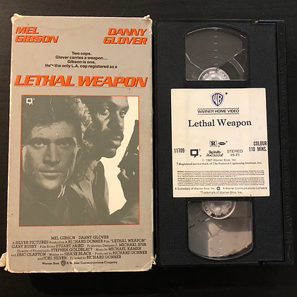LETHAL WEAPON - VHS