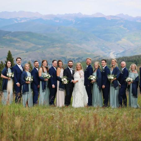 Mindy + Brad | September 21, 2019 | The Westin Riverfront, Avon, Colorado | Wedding