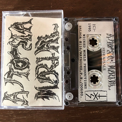 AUTOPSIA MORTAL - Rehearsal Sessions tape