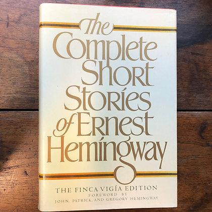 Hemingway, Ernest - The Complete Short Stories hardcover