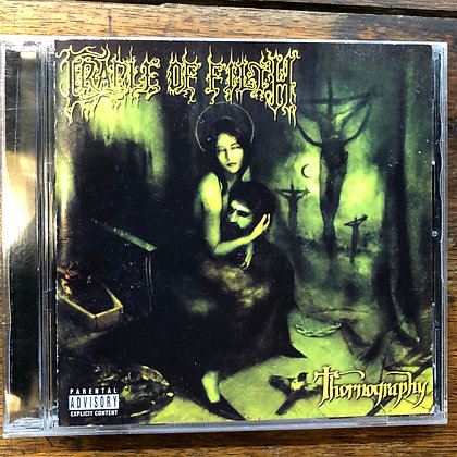 Cradle of Filth - Thornography CD