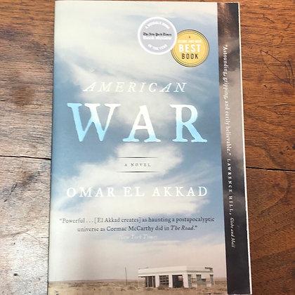 Akkad, Omar El - American War softcover