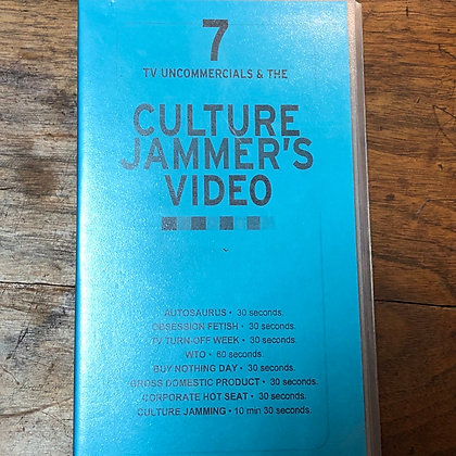 Culture Jammers Video VHS