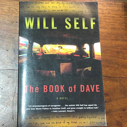 Self, Will - The Book of Dave softcover