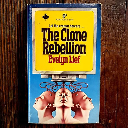 Lief, Evelyn : The Clone Rebellion - Paperback