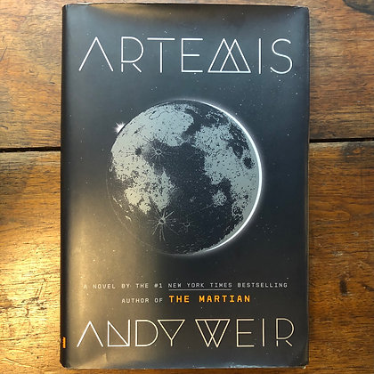 Weir, Andy - Artemis hardcover