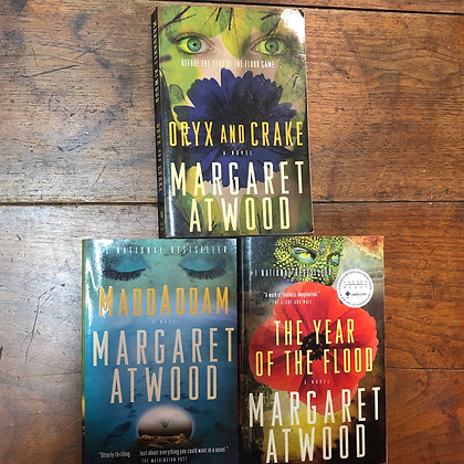 Copy Atwood, Margaret - Oryx and Crake trilogy softcover