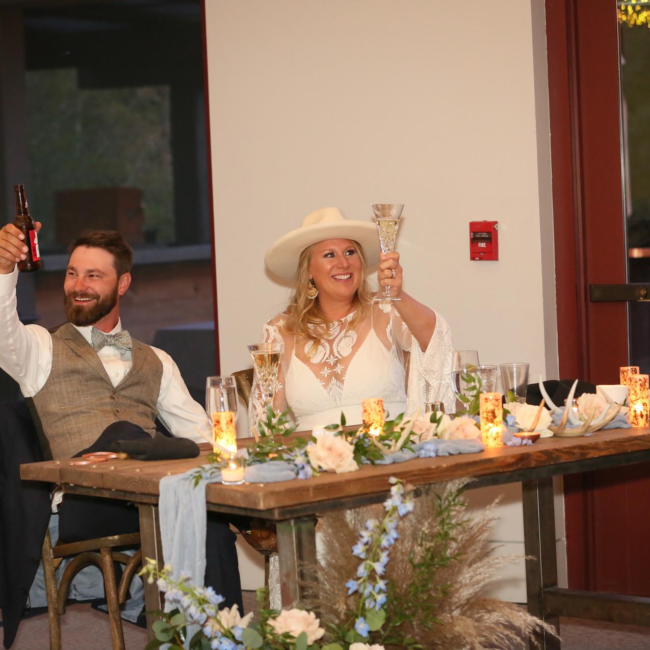 Incredible mountain wedding. Bohemian Colorado Mountain wedding.