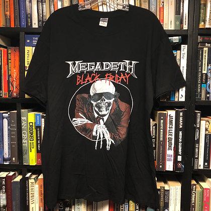 MEGADEATH shirt XL : Black Friday