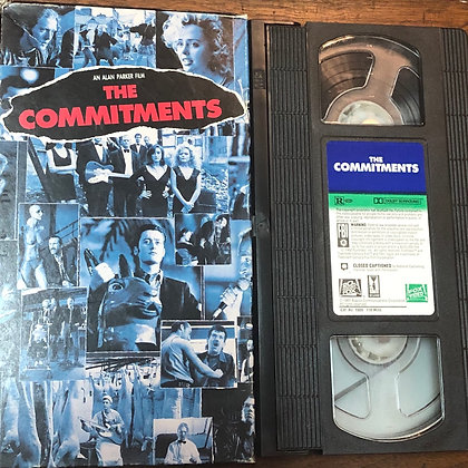 The Commitments VHS