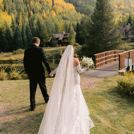 Hunter + Kyle | September 18, 2020 | Vail Golf and Nordic Center | Vail, Colorado | Micro Wedding