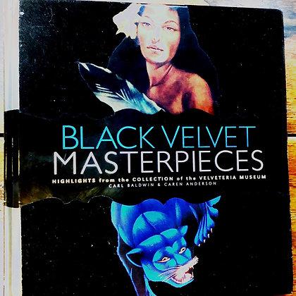 Black Velvet Masterpieces hardcover art book