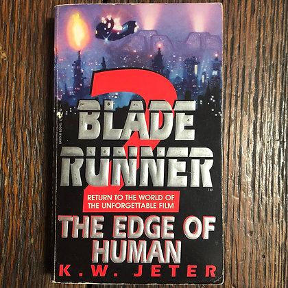 Jeter, KW : Blade Runner 2 : The Edge of Human - Paperback