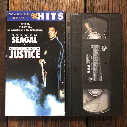 OUT FOR JUSTICE - VHS