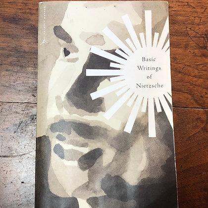Nietzche - Basic Writings of Nietzsche paperback