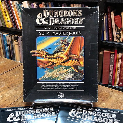 Dungeons & Dragons - Set 4 Master Rules