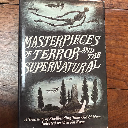 Kaye, Marvin - Masterpieces of Terror and the Supernatural hardcover