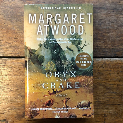 Atwood, Margaret - Oryx and Crake softcover