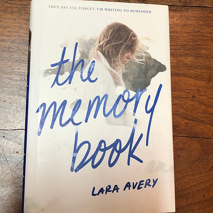 Avery, Lara - the Memory Book hardcover