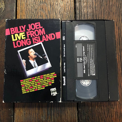 BILLY JOEL : Live From Long Island - VHS