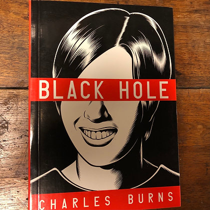Black Hole complete softcover graphic novel