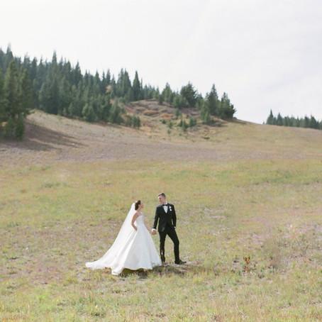 Caroline + Daniel | September 26, 2020 | Sonnenalp Vail | Vail, Colorado | Wedding