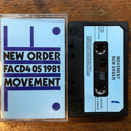 New Order - Movement tape
